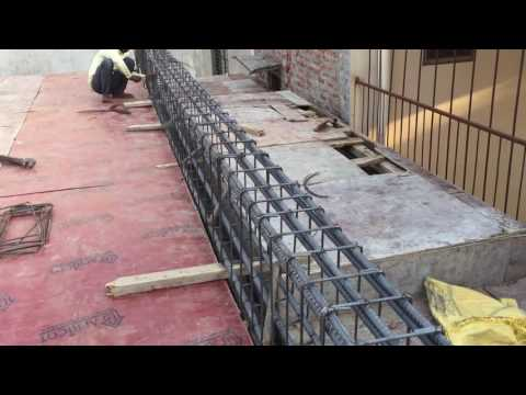 For RCC lanter - Shuttering Beams & Pillars TMT bars tying steel rebars reinforcing bar Slabs