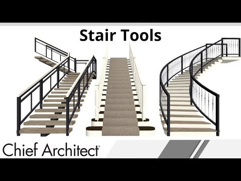 Tutorial on Stairs in Home Designer Software thumbnail