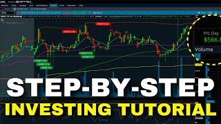 SIMPLE STEP-BY-STEP INVESTING TUTORIAL FOR BEGINNERS