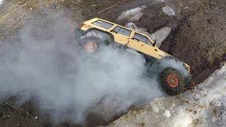Чуть Не Сгорел Jeep ... Сравнительный Тест-Драйв Уаз И Jeep Cherokee