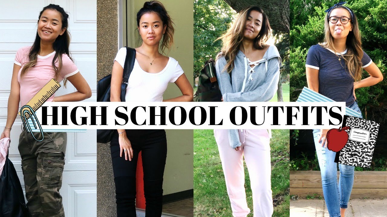 CUTE HIGH SCHOOL OUTFITS IDEAS!  rachspeed