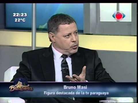 Bruno Masi, el inventor de la tv show en Paraguay 08-04-2015