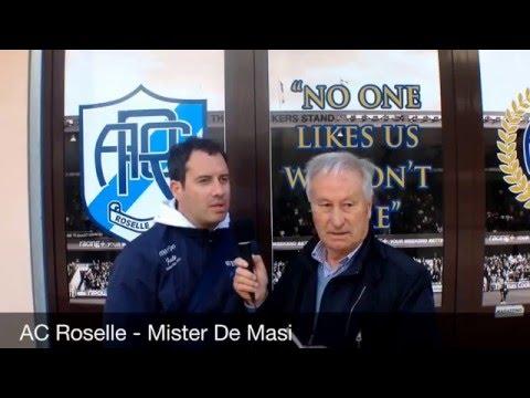 Roselle- San Miniato Basso - Mister De Masi