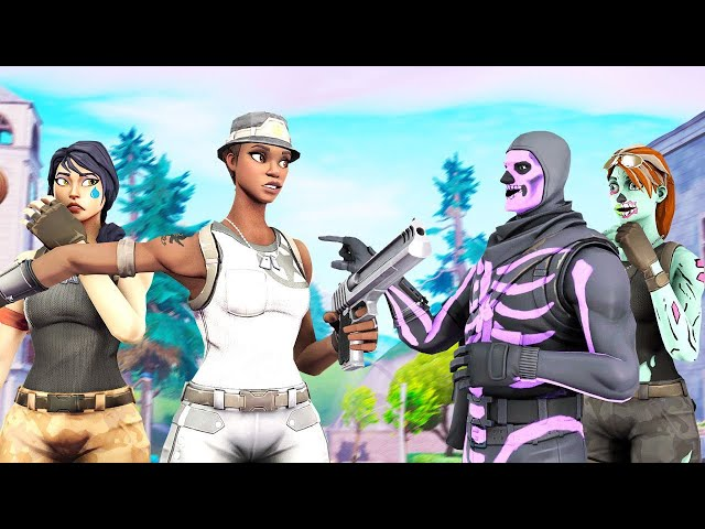 These Bullies Kept Picking On A Kid For Having No Rare Skins So I Protected Him With RECON EXPERT..