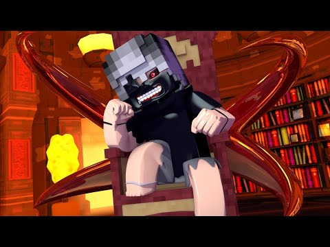 Minecraft: O REI GHOUL !! TOKYO GHOUL GUERRA Ep.6 ‹ Ine ›