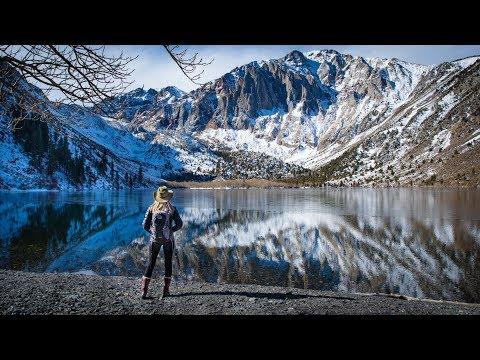 Winter In The Sierra 2020 in 4K | Convict Lake | June Lake Loop | Mono Lake | Mammoth Lakes