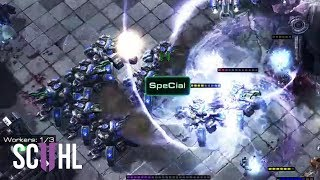 HUGE SIEGE TANK SPLASH 💥 - Starcraft 2: Special vs Classic