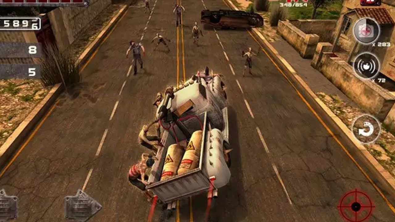 Zombie Squad Racing game for iPhone