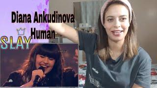 Diana Ankudinova Human/ Диана Анкудинова/VOCALIST REACTION