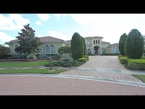 Multi Million Dollar Golf Course Home Close To Tiger Woods For Sale