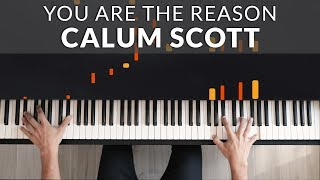 Download lagu Calum Scott - You Are The Reason | Tutorial of my Piano Cover + Sheet Music