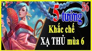 Lin qun mobile Top 5 Tng Khc ch X Th Ti Ma 6 Tiu ch C ng- p St- Gank mt mnh