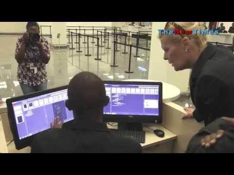 Kigali International Airport receives anti-terrorism equipment