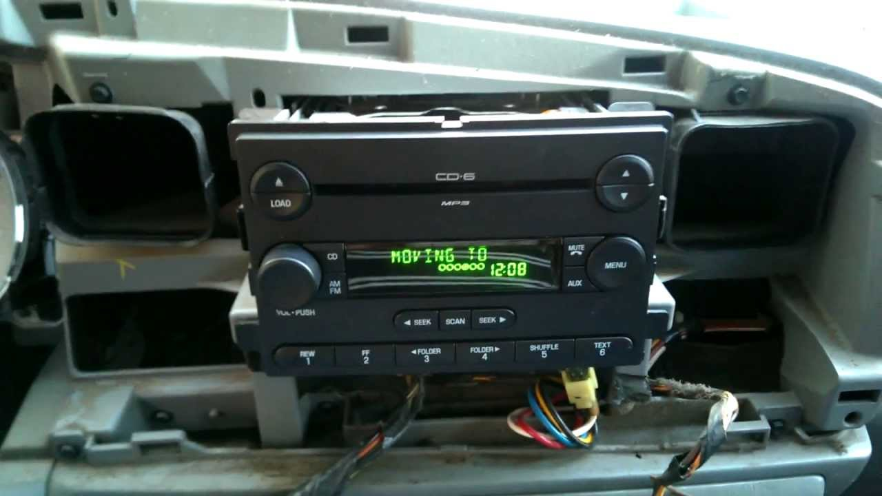 HOWTO  Install a 2007    Ford    Focus MP3 6 disc changer into a 2005    Ford       F250     REPAIR  YouTube