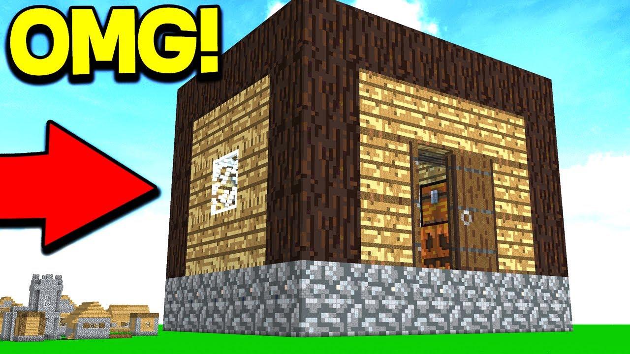 World Record Biggest Minecraft House