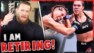 Reactions to Amanda Nunes vs Felicia Spencer UFC 250, Conor McGregor reveals he's RETIRING from MMA