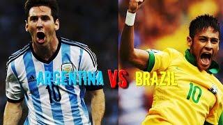 SPORT TV 1 HD - Argentina vs Brazil 4-3 - All Goals & Highlights 09/06/2012