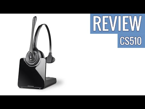 Plantronics CS510 Wireless Headset System review
