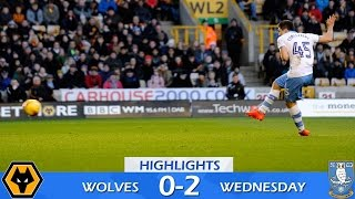 Wolves 0 Sheffield Wednesday 2 | Extended highlights | 2016/17