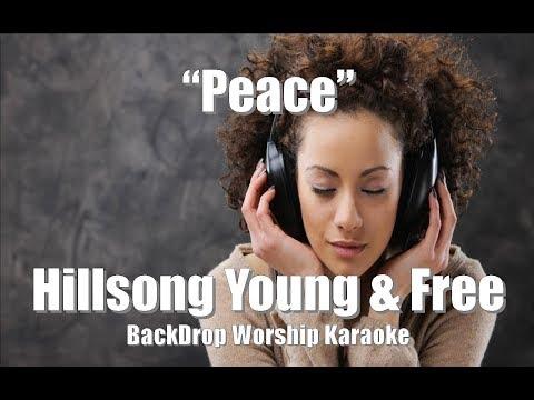 "Hillsong Young & Free ""Peace"" Karaoke Worship"