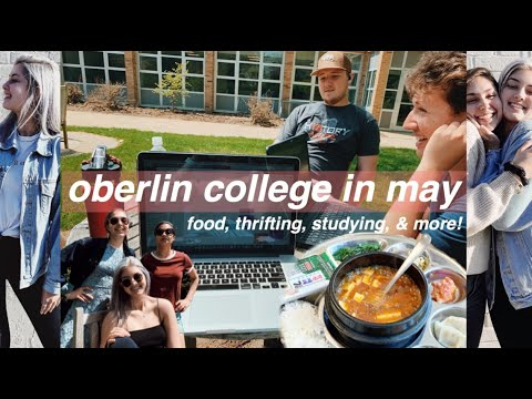 31. A Week In The Life At Oberlin College!! \\ May Travel Vlog ✧