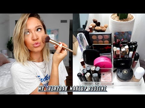 my everyday makeup routine   *when i dont really care