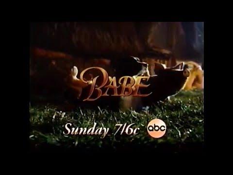 Babe (1995) April 1998 ABC premiere promo [Remastered]
