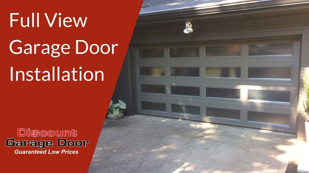 Full view garage door installation discount garage door for Garage discount brest