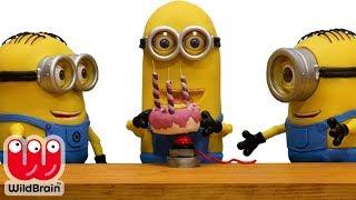 Minions STOP MOTION (Video) Minions Birthday Mess! Minions Stop Motion Animation 🎨 Crafty Kids
