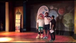 29-06-2014: Leondino Giombini testimonial al Trofeo delle Regioni 2014 in Basilicata