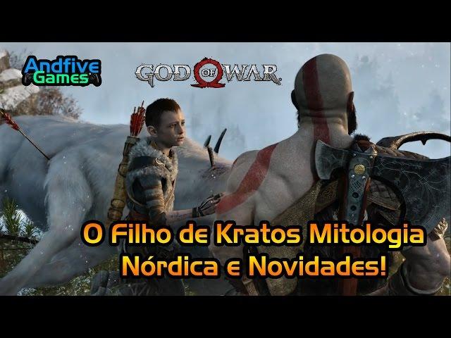 God Of War : Quem é o Filho de Kratos? Mitologia Nórdica e Novidades?