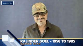 The fascinating case of Rajinder Goel and India caps.
