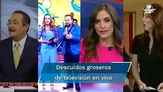 Las groserías forman parte del lenguaje diario del mexicano, tanto así que estos conductores olvidaron que estaban en televisión nacional