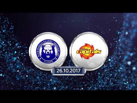 Erste Bank Eishockey Liga 17/18, 7. Runde: KHL Medvescak Zagreb - Vienna Capitals 4:1