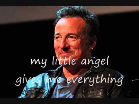 Bruce Springsteen - Jersey girl (lyrics on clip)