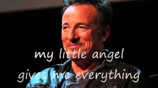 Bruce Springsteen - Jersey girl (lyrics on clip)