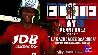 Kenny Baez C 2019 Class from (Yordany Ramirez Baseball Academy) Date video: 24.09.2018