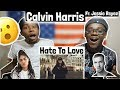 Calvin Harris - Hard to Love (Official Video) ft. Jessie Reyez | REACTION