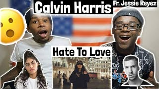 Calvin Harris - Hard to Love (Official Video) ft. Jessie Reyez | REACTION