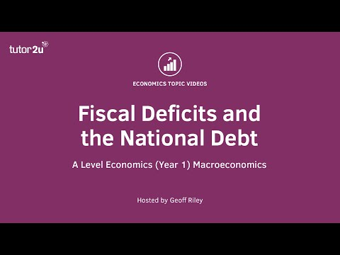 Fiscal Deficits And The National Debt