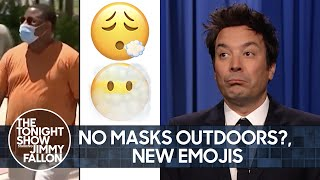 CDC Relaxes Mask Guidelines, Apple Debuts New Emojis | The Tonight Show Starring Jimmy Fallon