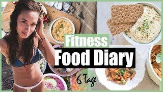GESUNDES FOOD DIARY - Volle 6 Tage - Ideal Ernähren ohne Diät - Einfach umzusetzen!