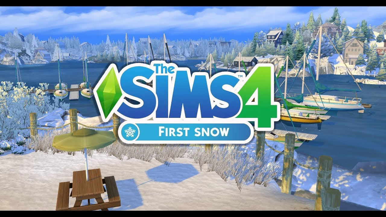 the sims 4 snow mod cats and dogs update youtube