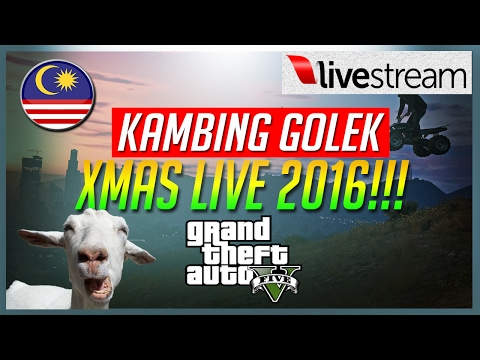 ★ XMAS LIVE 2016!!! ★  | GTA 5 with friends | Malaysia | (PS4)