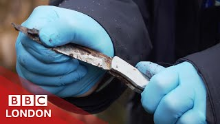 Searching for Knives with London's Police Cadets - BBC London
