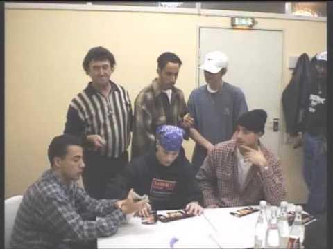 Charly2000 mit den Backstreet Boys 1996