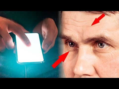 How Your Phone's Blue Light Could Be Aging Your Skin and Eyes