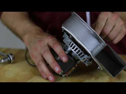 How to Install the Pellet Stove Exhaust Combution Motor Fan Kit