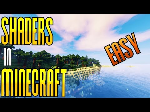 SHADERS for Minecraft - EASY Download and Install - Minecraft 1.12.2