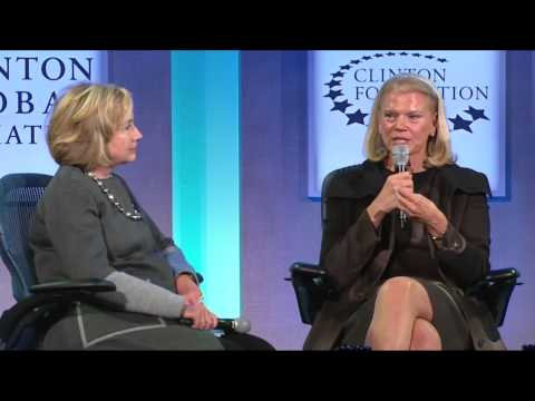 Reimagining Impact: Jim Yong Kim and Ginni Rometty - CGI 2014 Annual Meeting